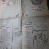 Ziarul papagalul anul 1, nr.2 din 3 decembrie 1944-ziar de satira si umor