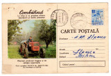 CARTE POSTALA COMBATIND BULETIN DE AVERTIZARE MINISTERUL AGRICULTURII