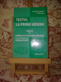 """Georgeta Costache - Textul la prima vedere """"A2191"""""""