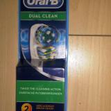 Set 2 rezerve Oral B Braun dual clean