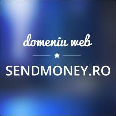 Vand domeniu web - SENDMONEY.RO