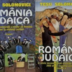 Romania iudaica. O istorie neconventionala a evreilor din Romania [vol. I + II] - Carti Iudaism
