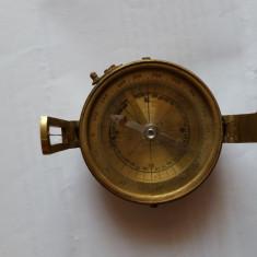 Busola Colectie Vintage ELLIOTT BRO Brass Sundial London - 2 Bucati
