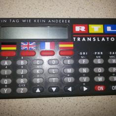 Translator, electronic, limbile, germana, engleza, franceza, spaniola