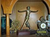 Statueta Dansatoarea bronz masiv