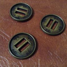 Lot 3 bucati - nasturi din metal EDC !!!!!