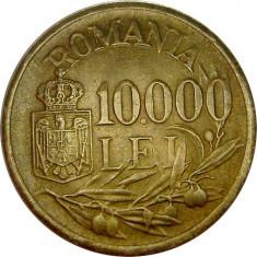 ROMANIA, 10000 LEI 1947 * cod 27 - Moneda Romania, Alama
