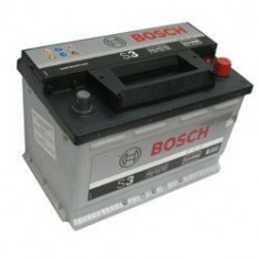 Baterie Auto Bosch S3 70Ah 640A, 60 - 80
