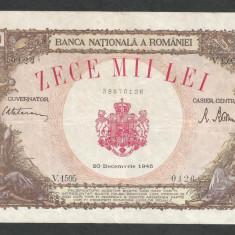 ROMANIA   10000  10.000  LEI  20  DECEMBRIE   1945  [14]   XF
