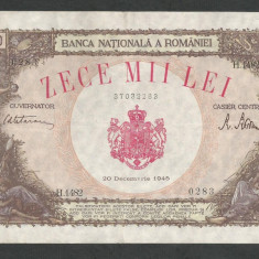 ROMANIA   10000  10.000  LEI  20  DECEMBRIE   1945  [16]   XF