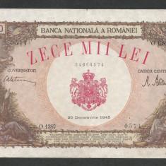 ROMANIA   10000 10.000  LEI  20  DECEMBRIE   1945  [7]   XF+