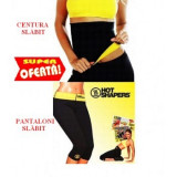 Set pantaloni hot shapers si centura, pantalon slabit hot shapers+centura - Echipament Fitness