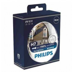 Bec Far Philips 12972RVS2 H7 RacingVision 150% lumina