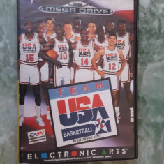 JOC MEGA DRIVE TEAM USA BASKETBALL, ELECTRONIC ARTS - Jocuri Sega
