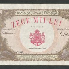 ROMANIA   10000  10.000  LEI  20  DECEMBRIE   1945  [19]  XF
