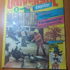 Revista universul copiilor anul 1,nr. 2 din 25 ianuarie 1990