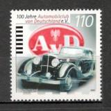 Germania.1999 100 ani Automobilclub SG.987 - Timbre straine, Nestampilat