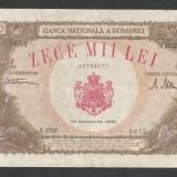 ROMANIA 10000 10.000 LEI 20 DECEMBRIE 1945 [8] XF+ - Bancnota romaneasca