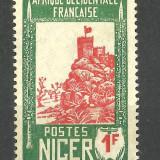 COLONII FRANCEZE--NIGER--1926 MNH, Nestampilat