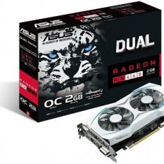 Placa Video ASUS Radeon RX 460 DUAL, 2GB, GDDR5, 128 biti