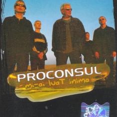 Caseta audio: Proconsul - Mi-a luat inima (2002) - stare foarte buna - Muzica Pop roton, Casete audio