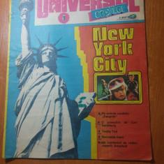 Revista universul copiilor nr. 8 din 8 martie 1990 - Reviste benzi desenate