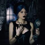 Cercei gotici Pentagramă din crengi - Pandantiv fashion