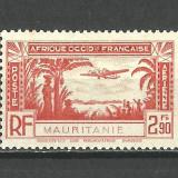 MAURITANIA--1940 MH, Nestampilat