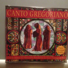 CANTO GREGORIANO - 2CD BOXSET(1994/EMI REC/Germany) - CD ORIGINAL/Sigilat/Nou