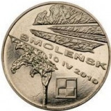 Polonia 2 zloty 2011 UNC Smolensk, Europa