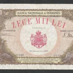 ROMANIA  10000  10.000  LEI 20 DECEMBRIE   1945  [11]   XF+
