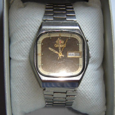 Orient Crystal 21 jewels automatic vintage barbatesc OS469C789B - Ceas barbatesc Orient, Mecanic-Automatic