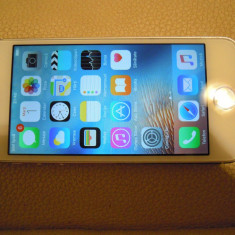 iPhone 5S Apple 16gb alb, Argintiu, Orange