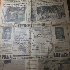 Ziarul ordinea 29 iulie 1941-regele mihai si maresalul antonescu in bucovina