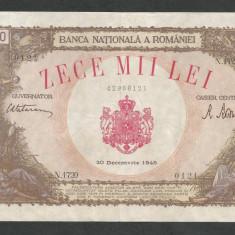 ROMANIA   10000  10.000  LEI  20  DECEMBRIE   1945  [12]   XF+
