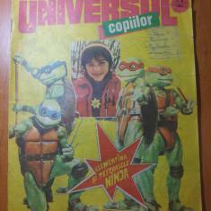 Revista universul copiilor nr. 7-8 din 21 februarie 1991 - Reviste benzi desenate