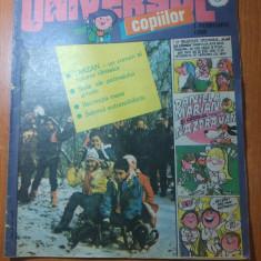 Revista universul copiilor nr. 3 din 1 februarie  1990