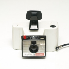 Polaroid Land Camera Swinger Model 20 - Aparat Foto cu Film Polaroid