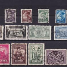 ROMANIA 1929/30, LOT 3 SERII STAMPILATE - Timbre Romania