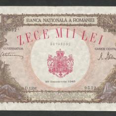 ROMANIA   10000  10.000  LEI  20  DECEMBRIE   1945  [13]   XF
