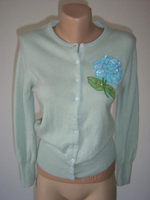 pulover dama italian 100% cashmere, S/M
