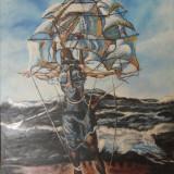 Tablou - pictat manual - reproducere Salvador Dali -