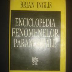 BRIAN INGLIS - ENCICLOPEDIA FENOMENELOR PARANORMALE - Carte paranormal