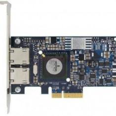 Placa de retea Dual Port Gigabit, Broadcom 5709, PCI-E - Server de stocare
