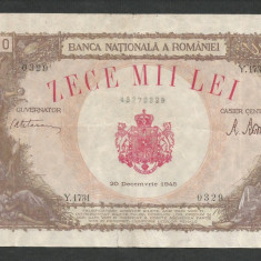 ROMANIA  10000  10.000  LEI   20  DECEMBRIE   1945  [29]   F