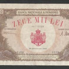 ROMANIA 10000 10.000 LEI 20 DECEMBRIE 1945 [29] F - Bancnota romaneasca