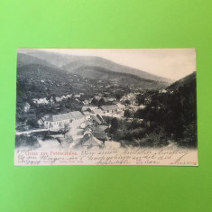 Romania - Văliug - Caraș-Severin - Carte Postala Muntenia 1904-1918, Circulata, Fotografie