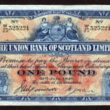 Scotia 1 Pound The Union Bank of Scotland Limited 1947