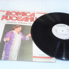 DISC VINIL LP ROMICA PUCEANU-VANTULE BATAIA TA EPE 01745 - Muzica Lautareasca