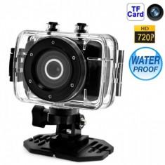Camera video subacvatica Action Camcorder - Camera Video Actiune, Card de memorie